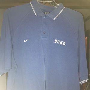 Vintage Nike Duke Blue Devils Polo